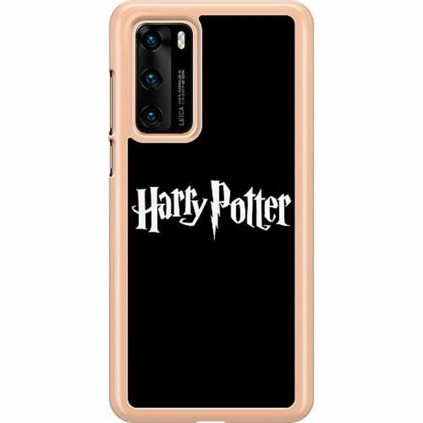 Huawei P40 Hard Case (Transparent) Harry Potter