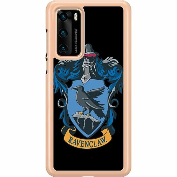 Huawei P40 Hard Case (Transparent) Harry Potter - Ravenclaw