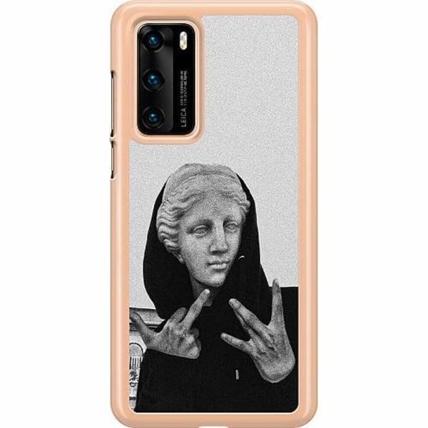Huawei P40 Hard Case (Transparent) Hello!