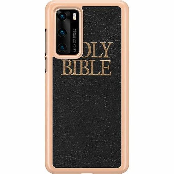 Huawei P40 Hard Case (Transparent) Holy Bible