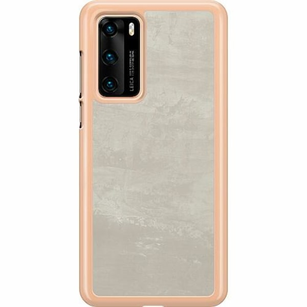 Huawei P40 Hard Case (Transparent) Icy Scapes