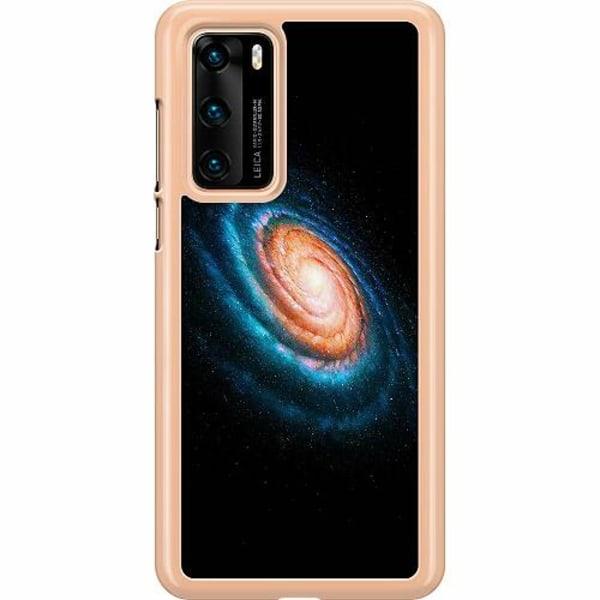 Huawei P40 Hard Case (Transparent) Infinite Galaxy