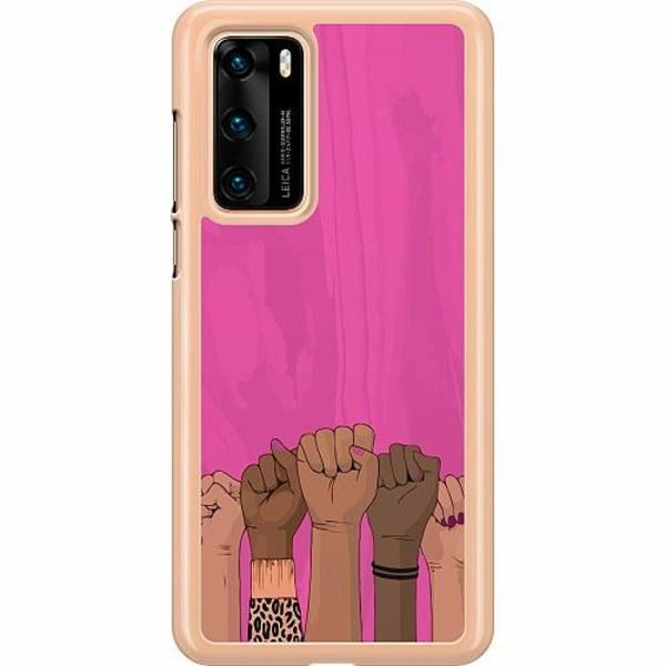 Huawei P40 Hard Case (Transparent) International Women's Day
