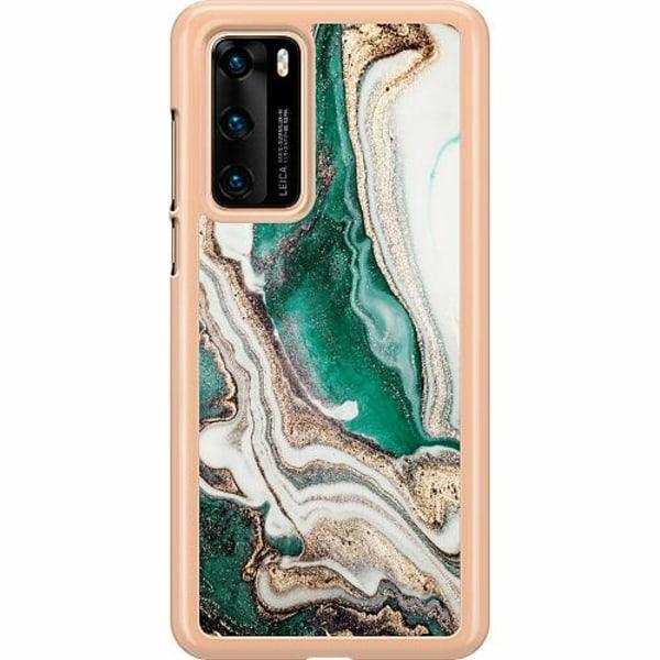 Huawei P40 Hard Case (Transparent) Jungle