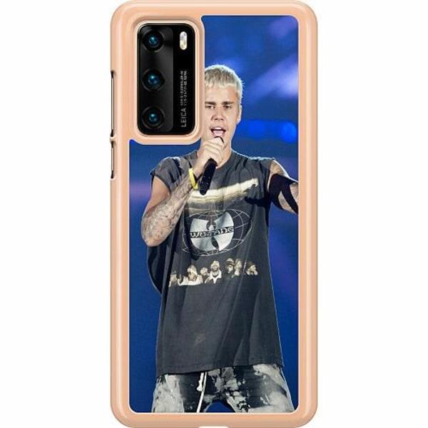 Huawei P40 Hard Case (Transparent) Justin Bieber 2020