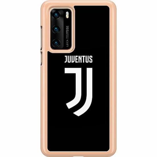 Huawei P40 Hard Case (Transparent) Juventus