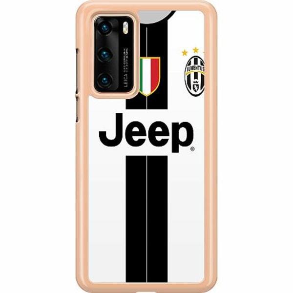 Huawei P40 Hard Case (Transparent) Juventus Football