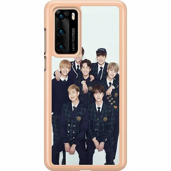 Huawei P40 Hard Case (Transparent) K-POP BTS