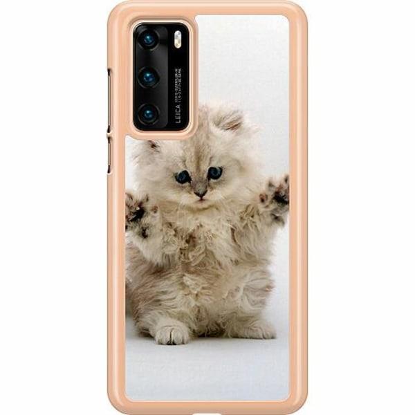Huawei P40 Hard Case (Transparent) Katt
