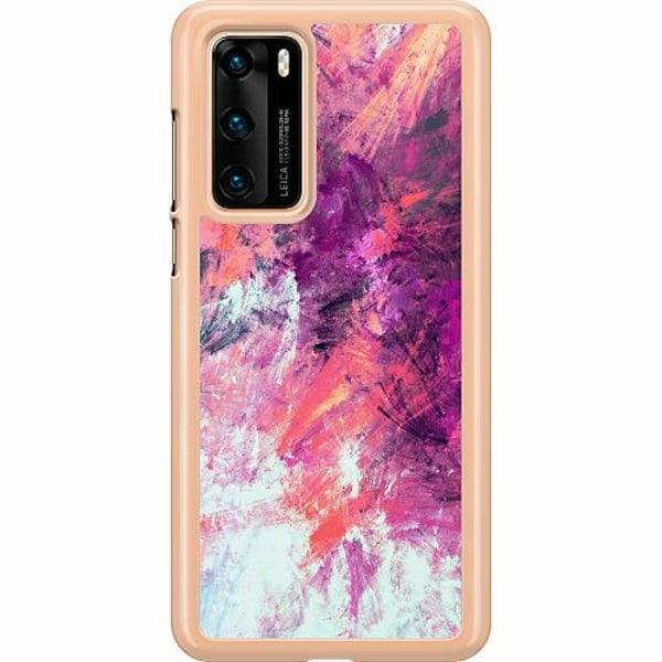 Huawei P40 Hard Case (Transparent) Keep Painting