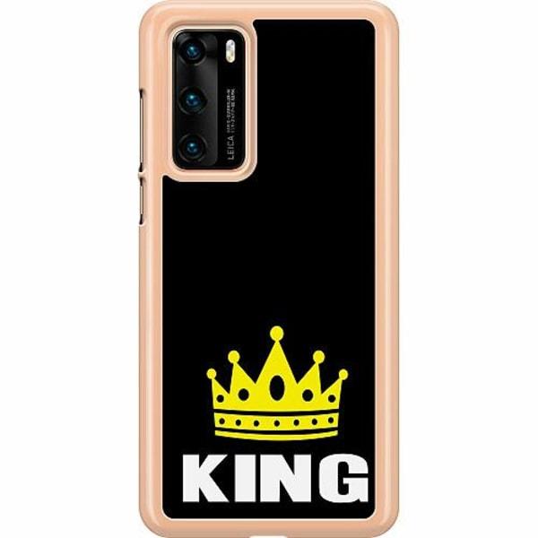 Huawei P40 Hard Case (Transparent) King 01