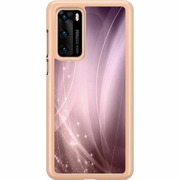 Huawei P40 Hard Case (Transparent) Lavender Dust