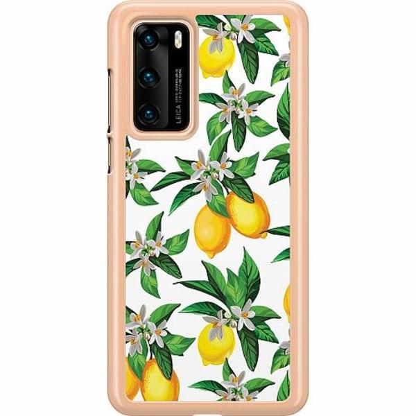Huawei P40 Hard Case (Transparent) Lemonical