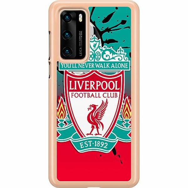 Huawei P40 Hard Case (Transparent) Liverpool