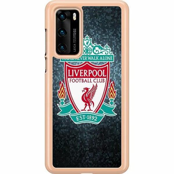 Huawei P40 Hard Case (Transparent) Liverpool Football Club