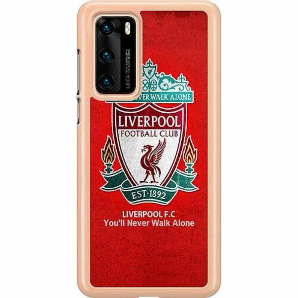 Huawei P40 Hard Case (Transparent) Liverpool YNWA
