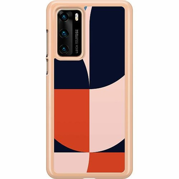 Huawei P40 Hard Case (Transparent) Look At Those Curves