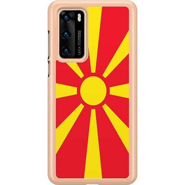 Huawei P40 Hard Case (Transparent) Macedonia