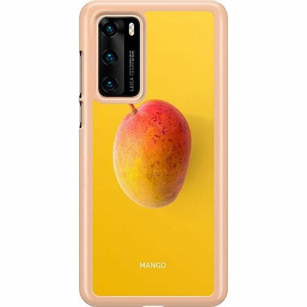 Huawei P40 Hard Case (Transparent) Mango