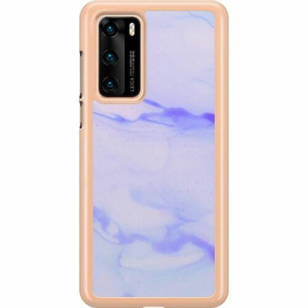 Huawei P40 Hard Case (Transparent) Marine Ultra