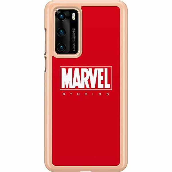 Huawei P40 Hard Case (Transparent) Marvel Studios