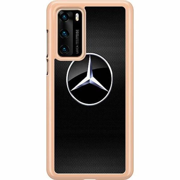Huawei P40 Hard Case (Transparent) Mercedes