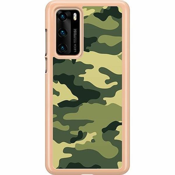 Huawei P40 Hard Case (Transparent) Military