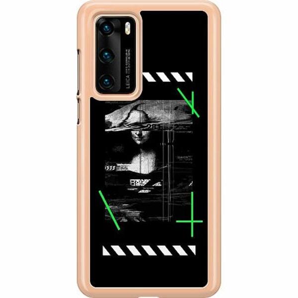 Huawei P40 Hard Case (Transparent) Mona L