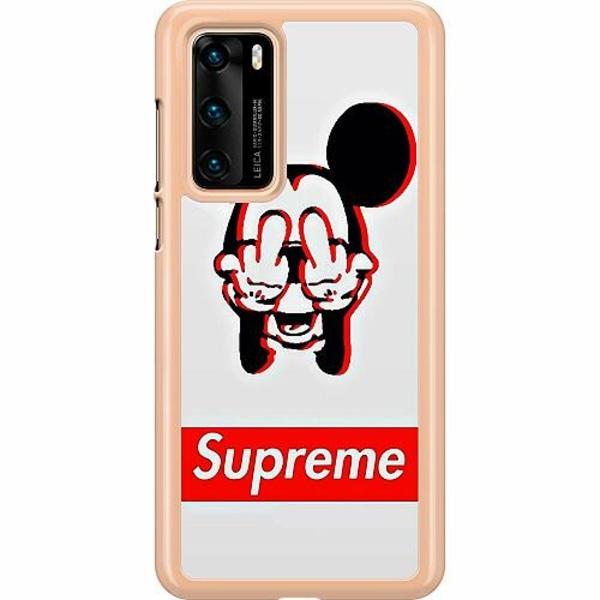 Huawei P40 Hard Case (Transparent) Mouse