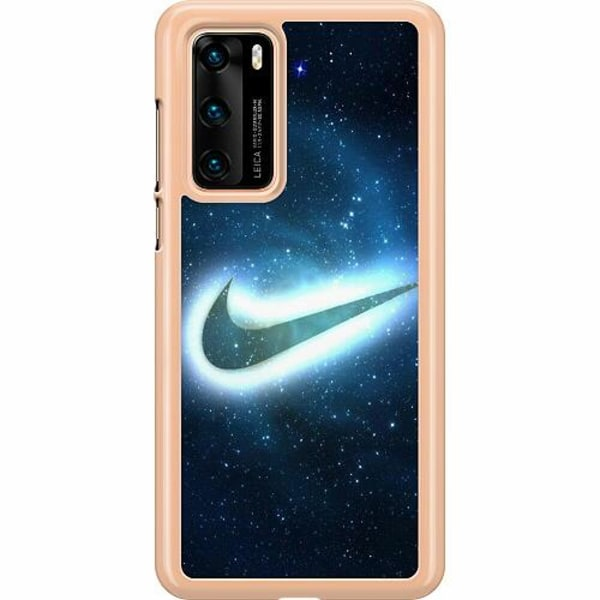 Huawei P40 Hard Case (Transparent) Nike