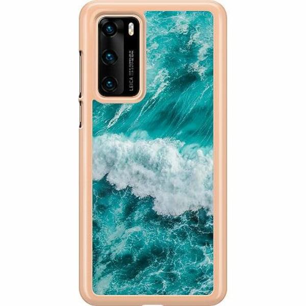 Huawei P40 Hard Case (Transparent) Ocean