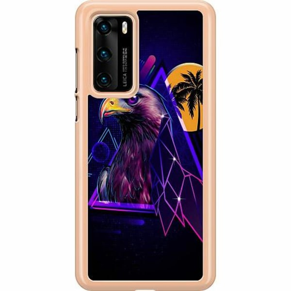 Huawei P40 Hard Case (Transparent) Örn