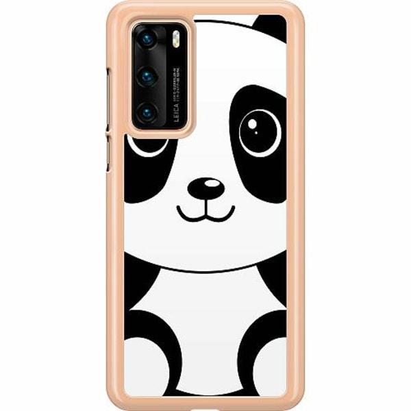 Huawei P40 Hard Case (Transparent) Panda