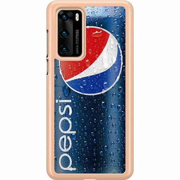 Huawei P40 Hard Case (Transparent) Pepsi Can