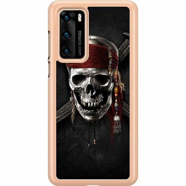 Huawei P40 Hard Case (Transparent) Pirate
