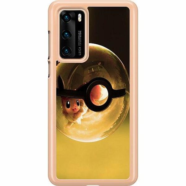 Huawei P40 Hard Case (Transparent) Pokemon