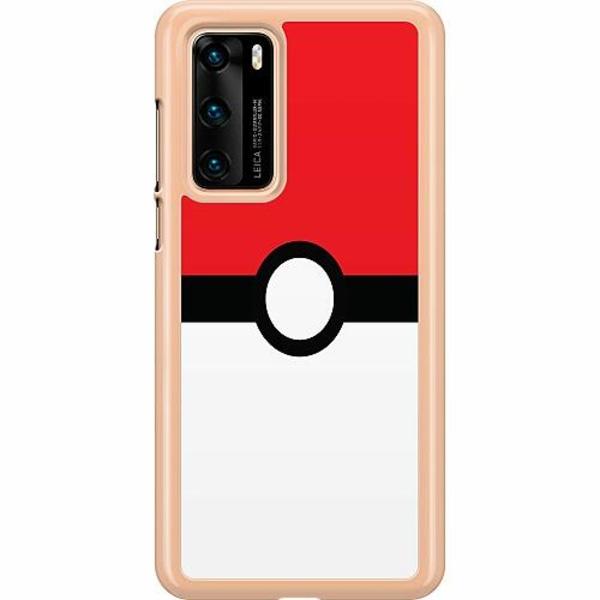 Huawei P40 Hard Case (Transparent) Pokémon