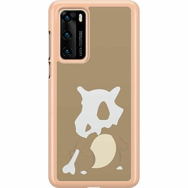 Huawei P40 Hard Case (Transparent) Pokémon - Cubone
