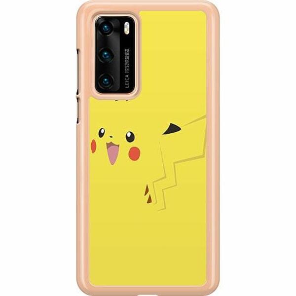 Huawei P40 Hard Case (Transparent) Pokémon: Pikachu