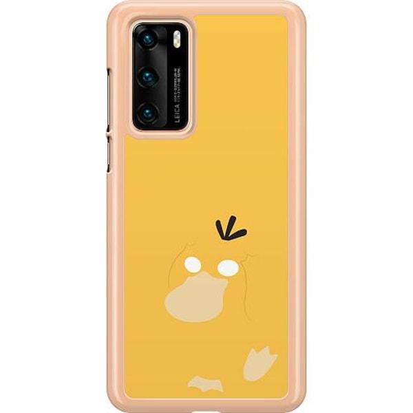 Huawei P40 Hard Case (Transparent) Pokémon - Psyduck