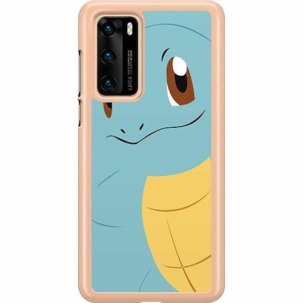 Huawei P40 Hard Case (Transparent) Pokémon - Squirtle
