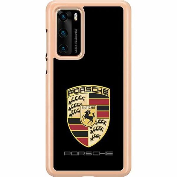 Huawei P40 Hard Case (Transparent) PORSCHE