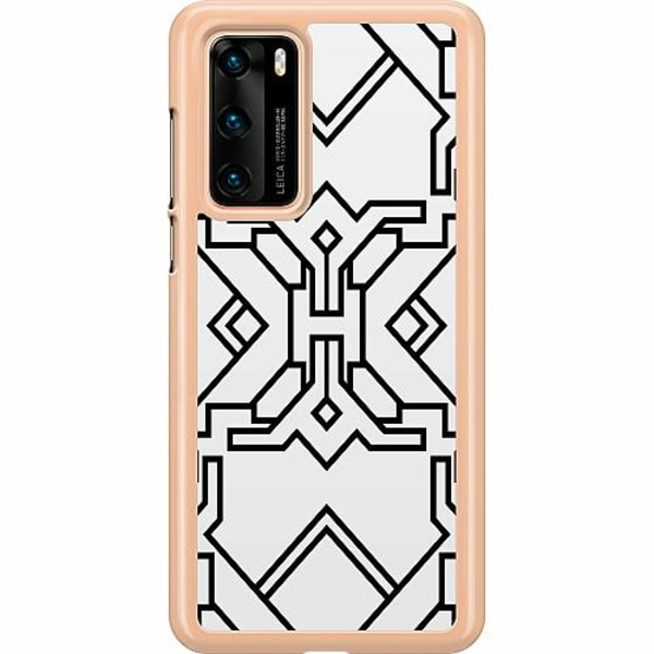 Huawei P40 Hard Case (Transparent) Probably No