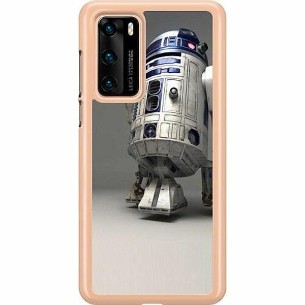 Huawei P40 Hard Case (Transparent) R2D2 Star Wars