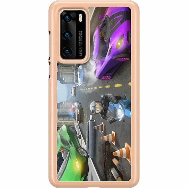 Huawei P40 Hard Case (Transparent) Roblox