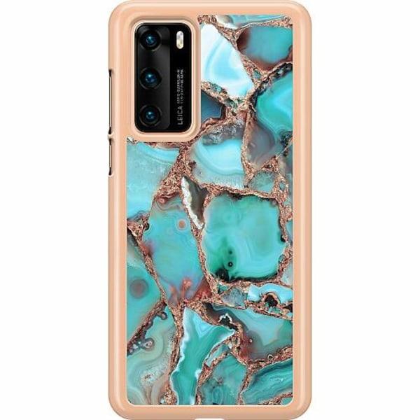 Huawei P40 Hard Case (Transparent) Santorini