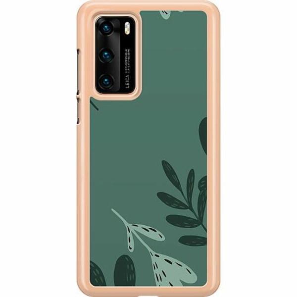 Huawei P40 Hard Case (Transparent) Simplicity Grows