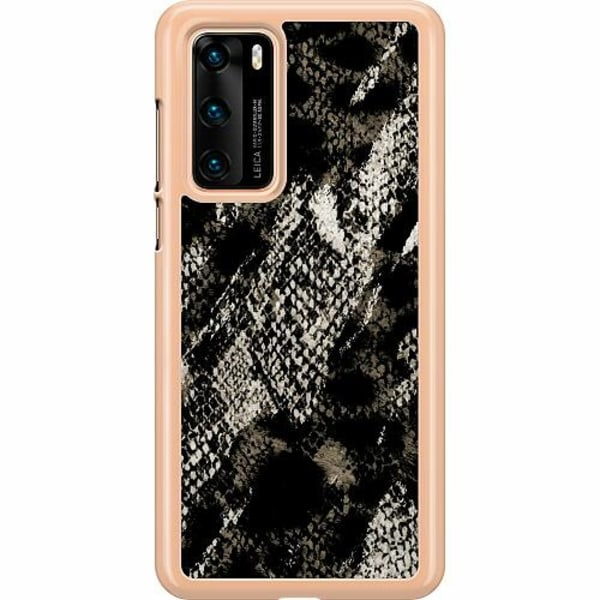 Huawei P40 Hard Case (Transparent) Snakeskin G