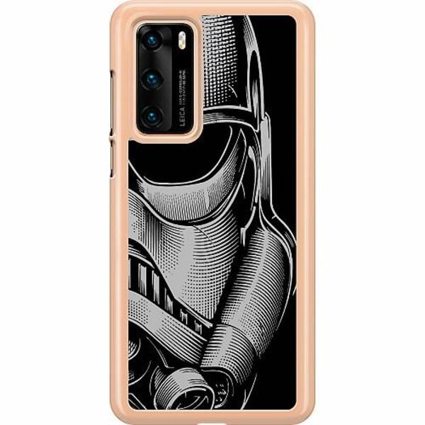 Huawei P40 Hard Case (Transparent) Stormtrooper