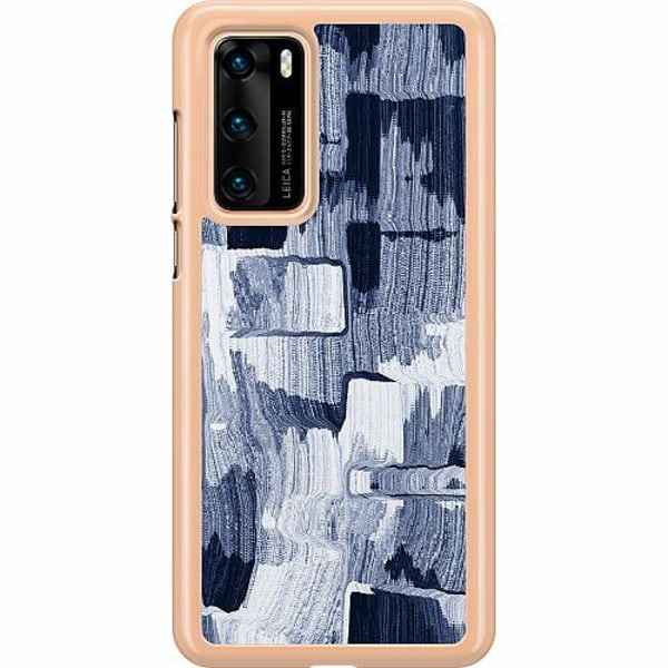 Huawei P40 Hard Case (Transparent) Stroked Out